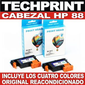 Cabezal Original Hp 88 Negro Azul Amarillo Rojo K550 K8600