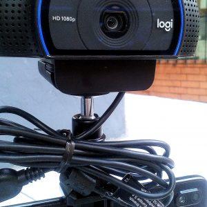 Transmisión en Vivo 1080p Kit Video Reportero Streaming Logitech C920