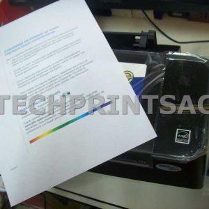 Botella Tinta Negra 120 Ml Epson Sistema Continuo 2400 Hojas A4